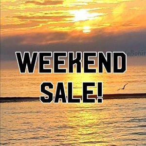 🎉Weekend Sale to Celebrate Summer!!🎉🎉